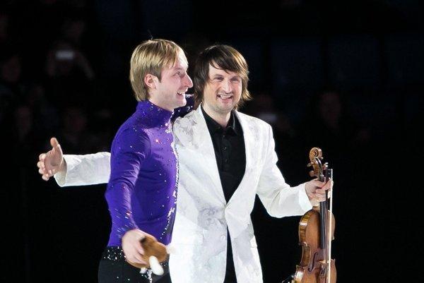 Jevgenij Pljuščenko a Edvin Marton.