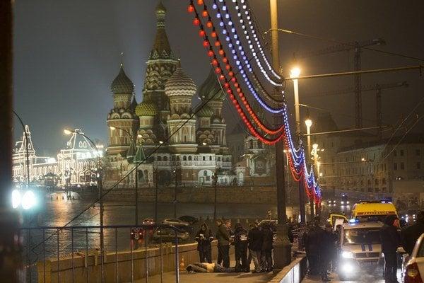 Nemcova zabili v centre hlavného mesta Ruska.