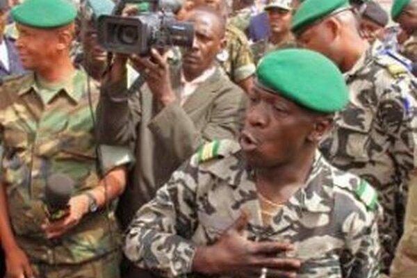 Vodca vojenského prevratu v africkom Mali v roku 2012 kapitán Amadou Sanogo.