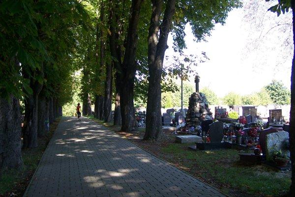Cintorín na Sklabinskej ulici.