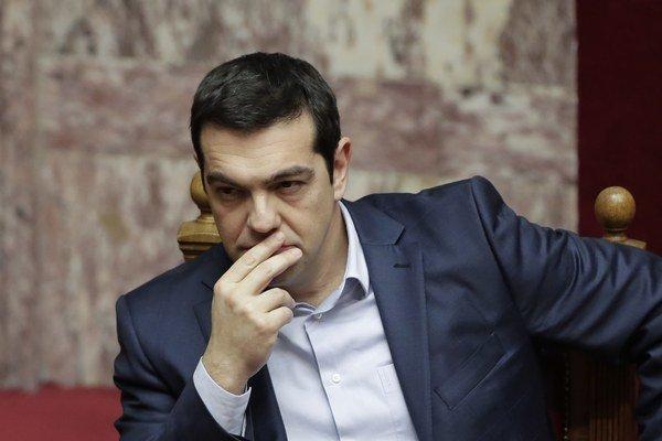 Grécky premiér Aléxis Tsípras.