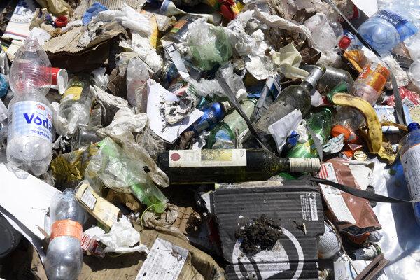 Odpad - ilustračné foto.