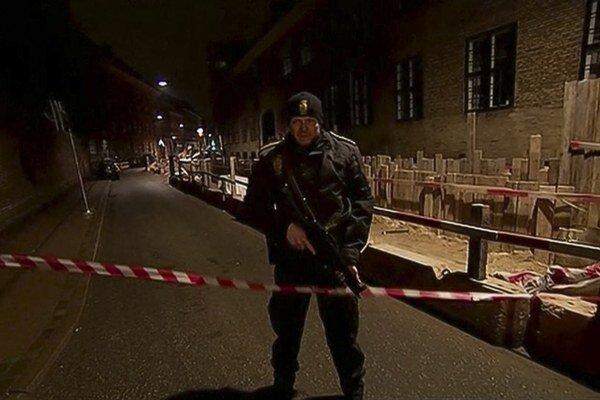 Okolie synagógy, pri ktorej sa stal druhý útok.