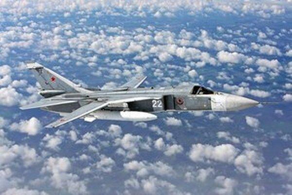 Ruská stíhačka Su-24.