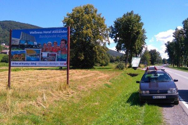 Horný Šariš propagujú aj v blízkom Poľsku. Billboard osadili tento utorok