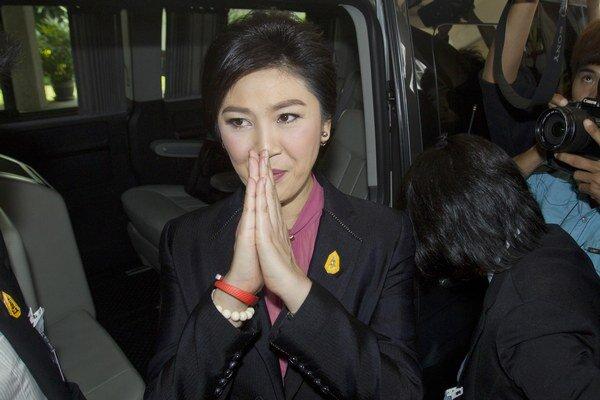 Thajská expremiérka Jinglak Šinavatrová.