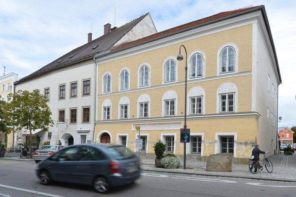 Rodný dom Adolfa Hitlera v rakúskom Braunau.