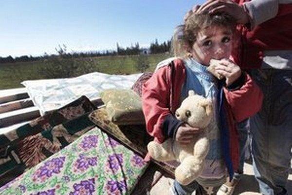 Sýrski utečenci.