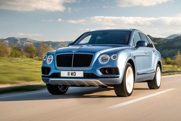Bentley Bentyaga príde aj s dieselovým motorom.