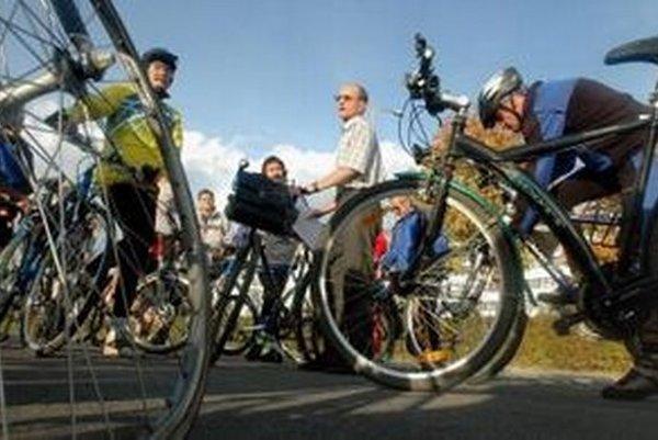 Tri štvrtiny cyklistov nenafúkajú.