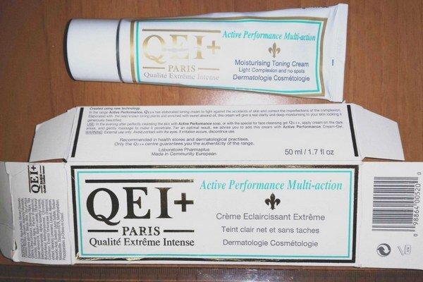 Problematický je aj výrobok na bielenie pokožky s názvom Qualité Extreme Intense.