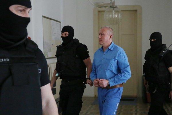 Hlavné pojednávanie s časťou skupiny Sýkorovcov na Špecializovanom trestnom súde v Banskej Bystrici v stredu 22. apríla 2015.