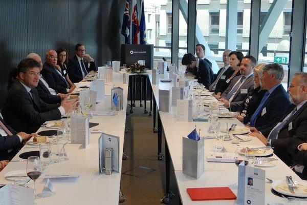 Minister Lajčák začal návštevu Austrálie vystúpením na pôde Európsko-austrálskej podnikateľskej rady.