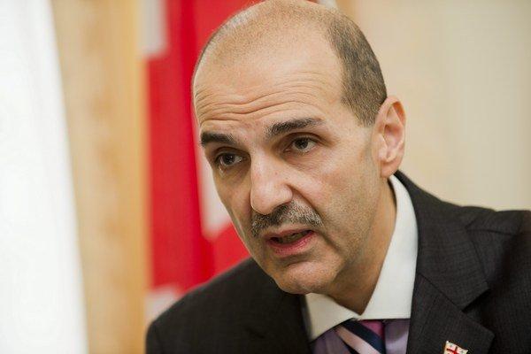 Gruzínsky veľvyslanec Alexander Nalbandov.