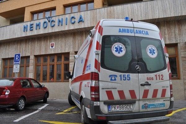 Nemocnica Alexandra Wintera v Piešťanoch.