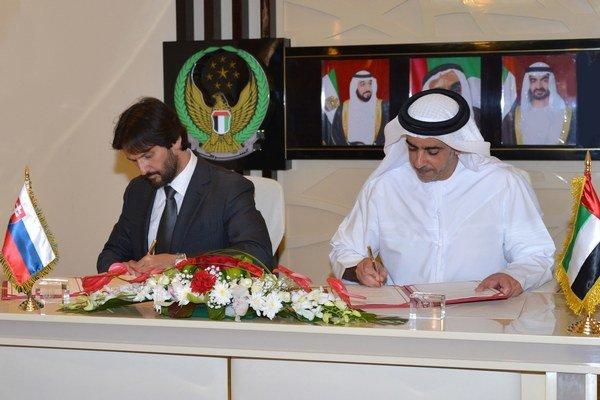Slovensko bude spolupracovať so Spojenými arabskými emirátmi (SAE) v oblasti bezpečnosti a boja proti terorizmu.