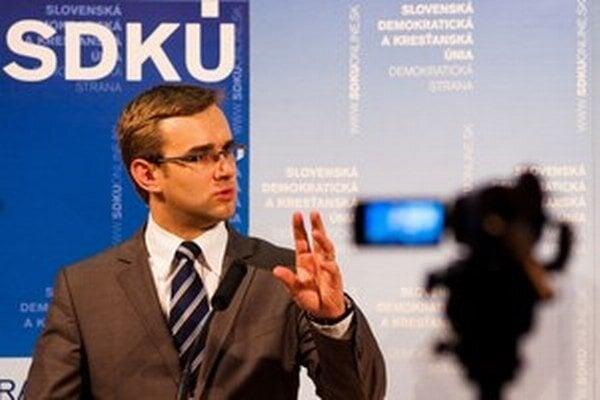 Martin Fedor v časoch, keď pôsobil v SDKÚ.
