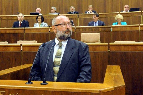 Poslanec Smeru Maroš Kondrot