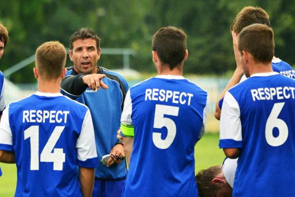 Oskár Lancz bude mať v pozícii trénera A-tímu premiéru proti Myjave.