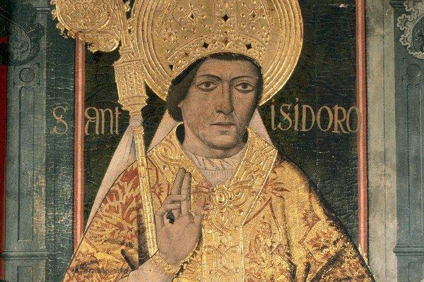 Svätý Izidor, patrón internetu.