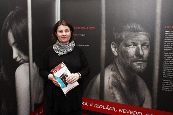 Andrea Bezáková zo Slovenskej katolíckej charity.
