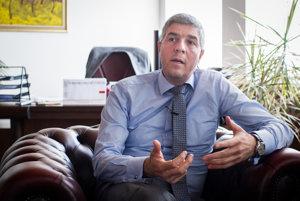 Predseda Most-Híd a podpredseda NR SR Béla Bugár.
