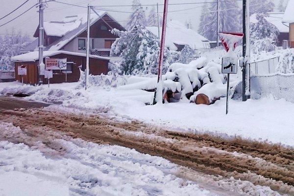 Snežiť bude zatiaľ iba na severe Slovenska.