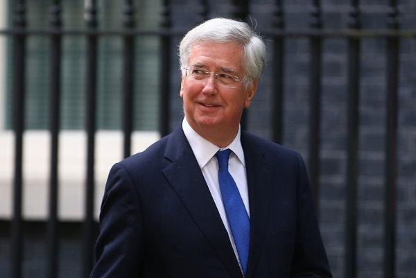 Britský minister obrany Michael Fallon.