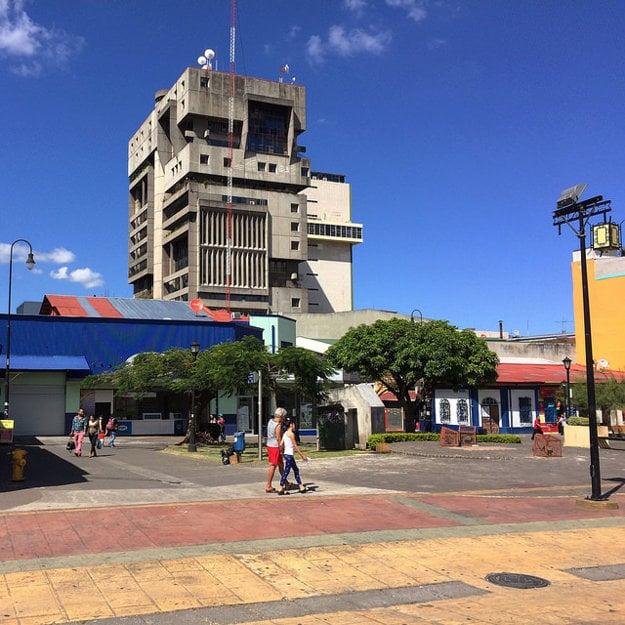 Jedna z architektonických zvláštností San José.