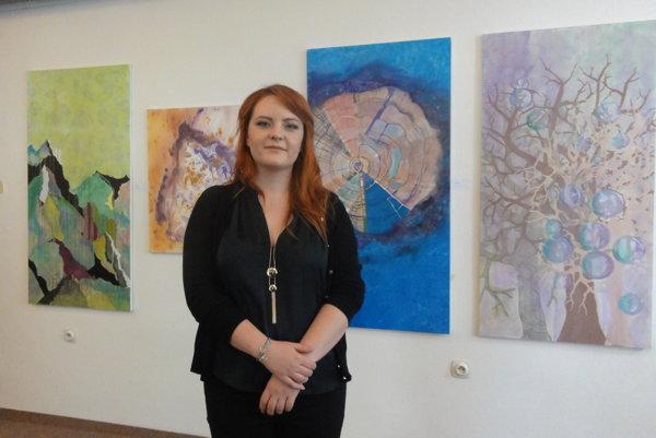 Eva Szórad a jej diela v Galérii VÚŽV.