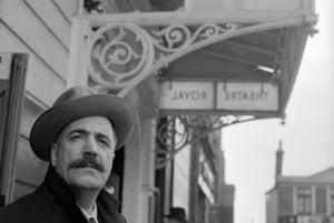 Americký spisovateľ William Saroyan (1908-1981)
