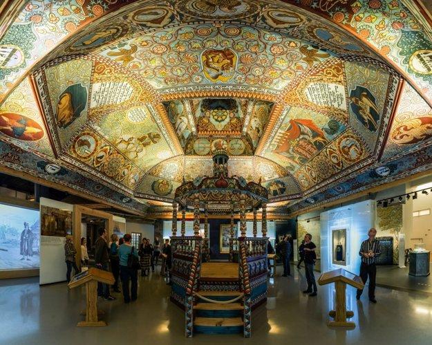 Múzeum histórie poľských židov. Otvorili ho nedávno, turisti sú zcelého sveta.