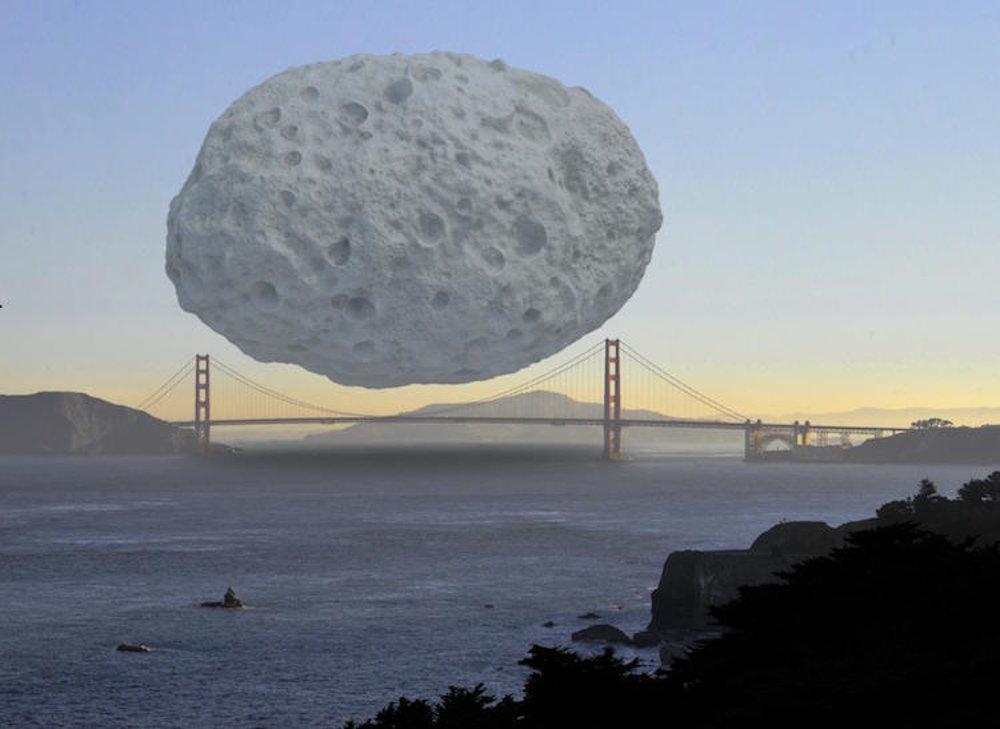 Asteroid Dionýzos je súčasťou pásu asteroidov Apollo. Odhaduje sa, že je približne jeden a pol kilometra široký a hodnota surovín v ňom je asi 2,6 bilióna dolárov. Keby sme ho umiestnili nad Golden Gate Bridge, nepresiahol by rozpätie mosta.