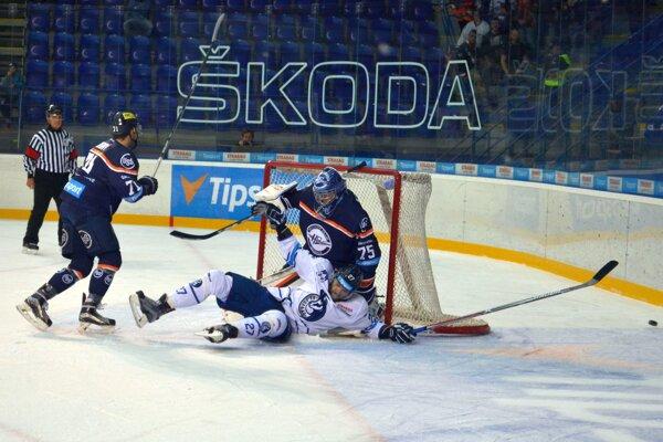 Výborné derby. Poprad s Košicami predviedli divákom kvalitný hokej.