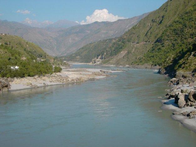 Pohľad na Indus ešte na jeho hornom toku.