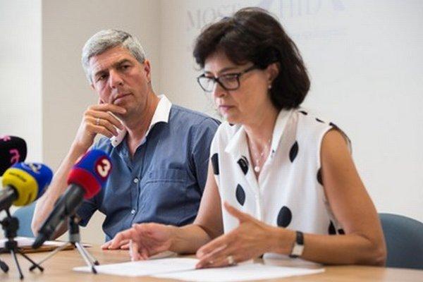 Béla Bugár a Lucia Žitňanská.