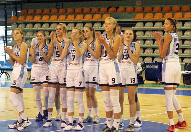 V sobotňajšom stretnutí s Cassoviou Košice sa Nitrianky tešili z historicky prvého extraligového víťazstva pre klub.