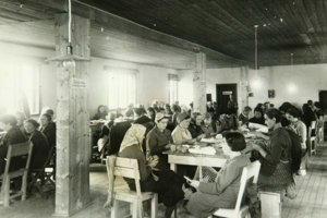 Tábor v Seredi.