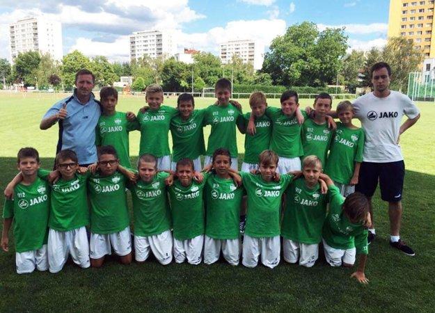 Mladší žiaci FC Nitra U12 (snímka je z iného zápasu).