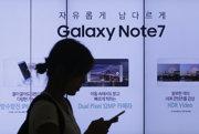 Galaxy Note 7 má problémy.