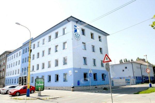 Sídlo VVS v Košiciach.