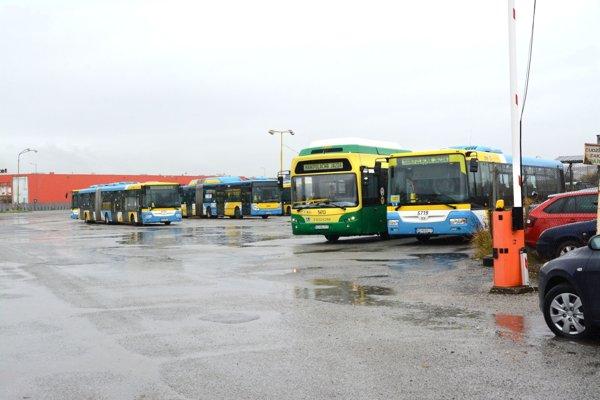Areál vo VŠA. Dopravný podnik sa má zneho vysťahovať vnovembri.