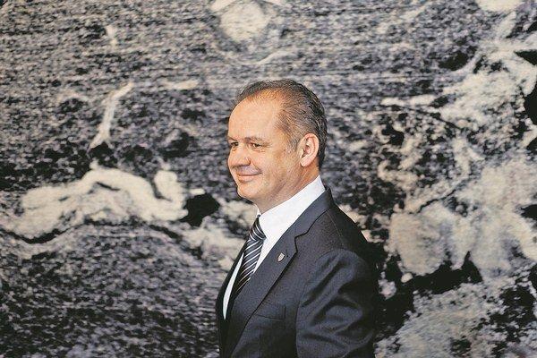 Budúci slovenský prezident Andrej Kiska.