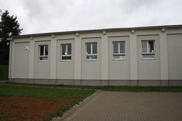 Obnovená telocvičňa v Bojniciach.