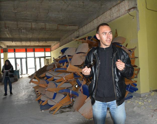 Živnostník Tomáš Vimmer. Pochádza zKošíc, ale podniká najmä vČesku.
