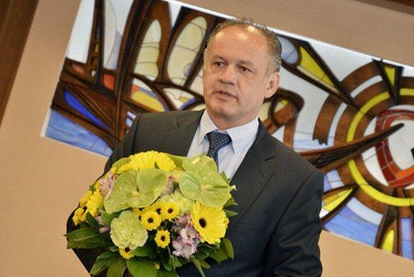 Andrej Kiska v Poprade.