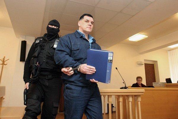 Doživotne odsúdený Mikuláš Černák.
