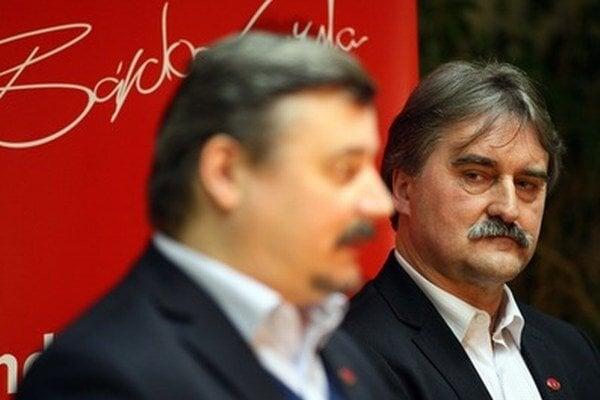 Gyula Bárdos (vpravo) očakáva, že o jeho päť percent bude záujem.