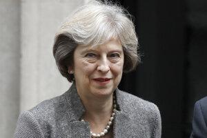 Britská premiérka Theresa May.