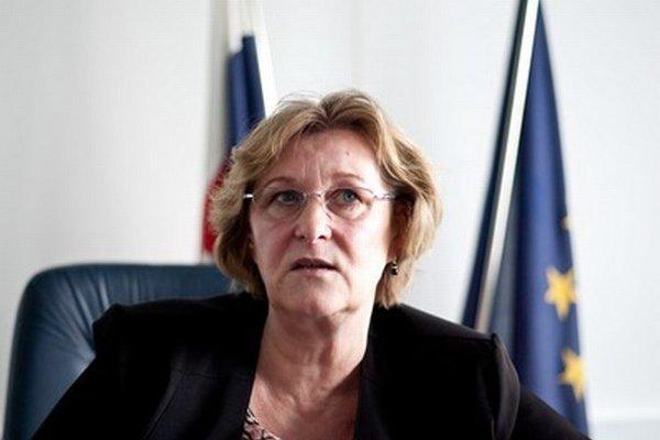 Ombudsmanka Jana Dubovcová.